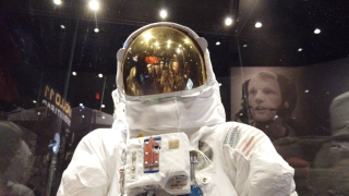 Neil Armstrong exhibit spacesuit