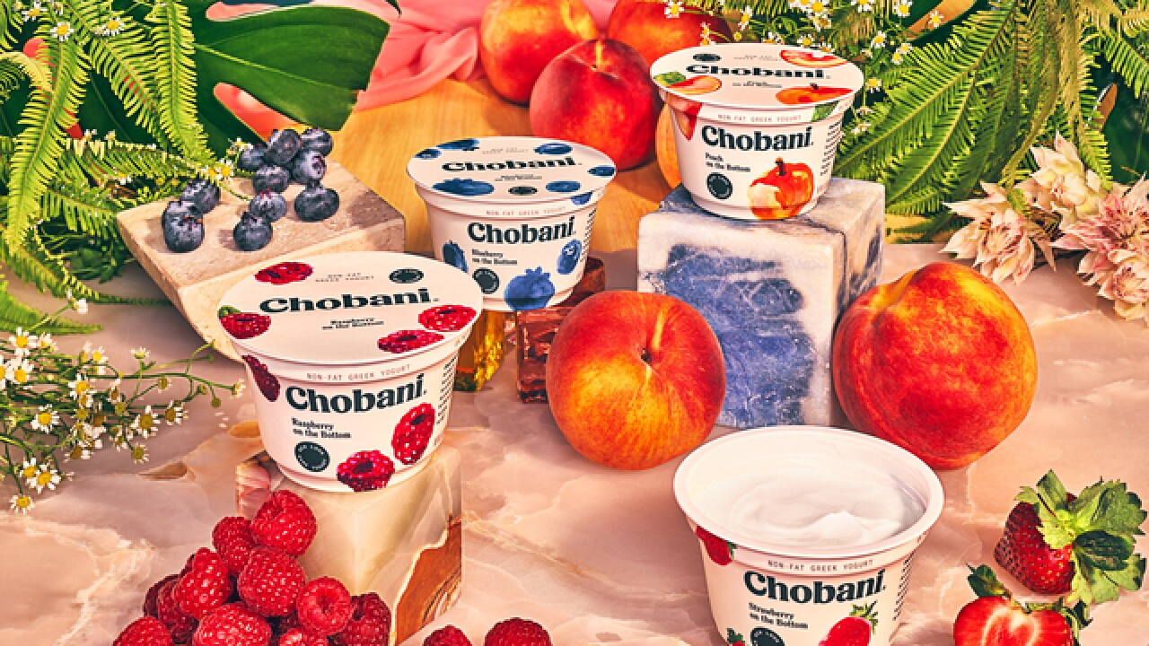 Chobani is giving away free yogurt to everyone in America