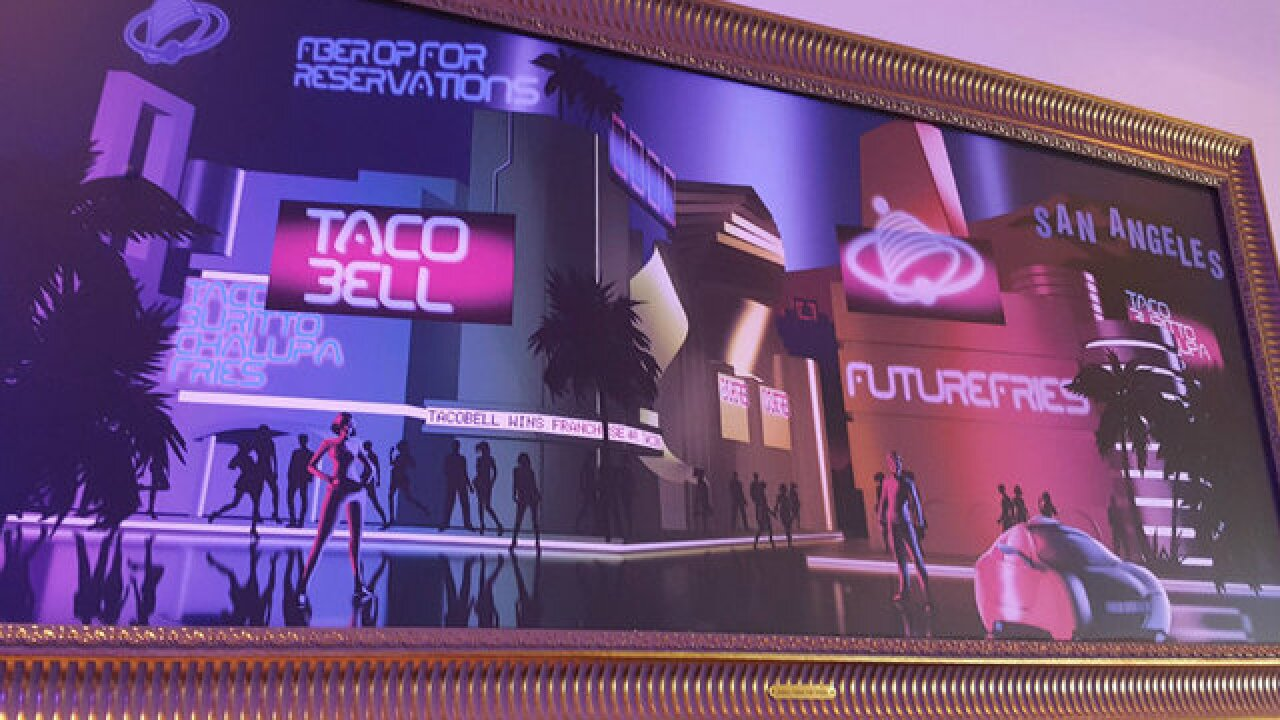 Taco Bell pop-up in SD honors 'Demolition Man'