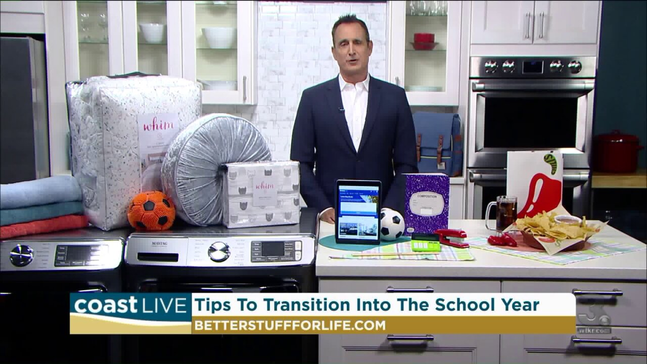 Tips to ensure a smooth transition into the school year on Coast Live