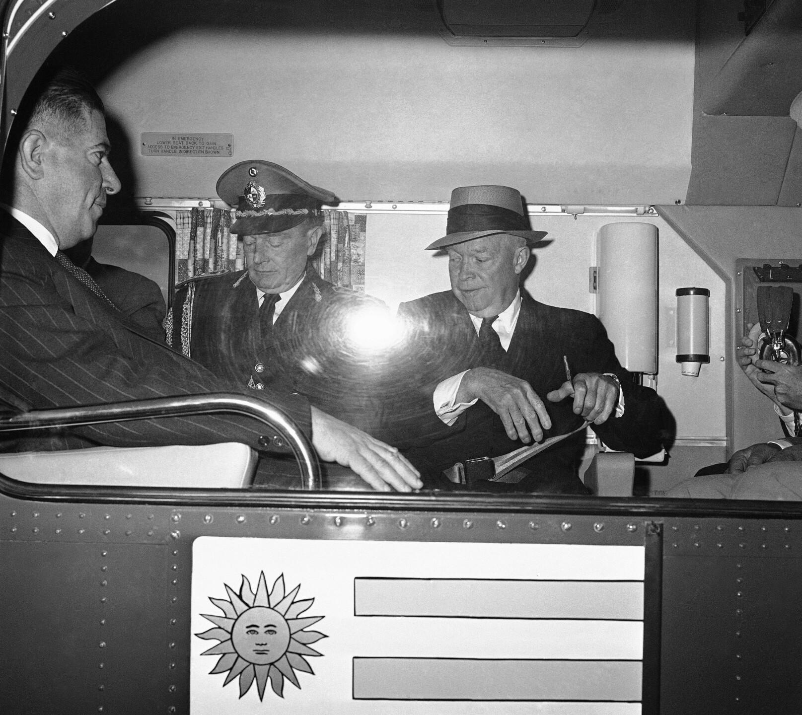 Dwight D. Eisenhower, Benito Nardone