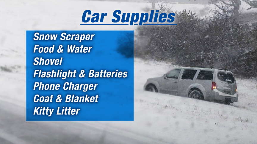 Winter Car Supplies