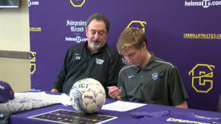 Hoxie sticks in Helena, signs with Carroll Men's Soccer