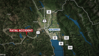 Fatal crash reported southwest of Kalispell involves 62-year-old woman