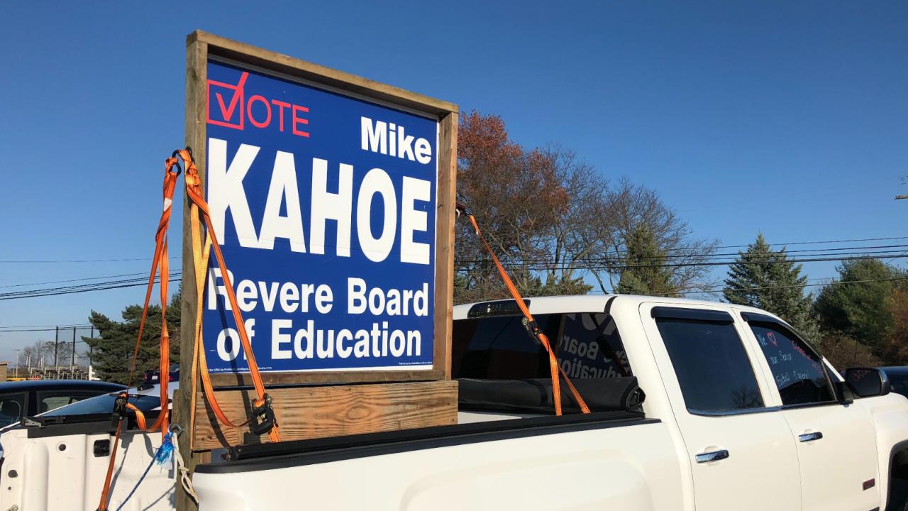 Mike Kahoe Revere Board of Education