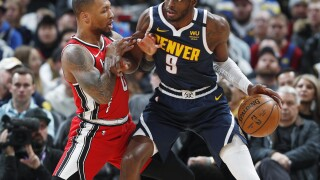 Nuggets clamp down on Damian Lillard, rout Blazers 127-99