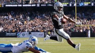 Josh_Jacobs_Detroit Lions v Oakland Raiders