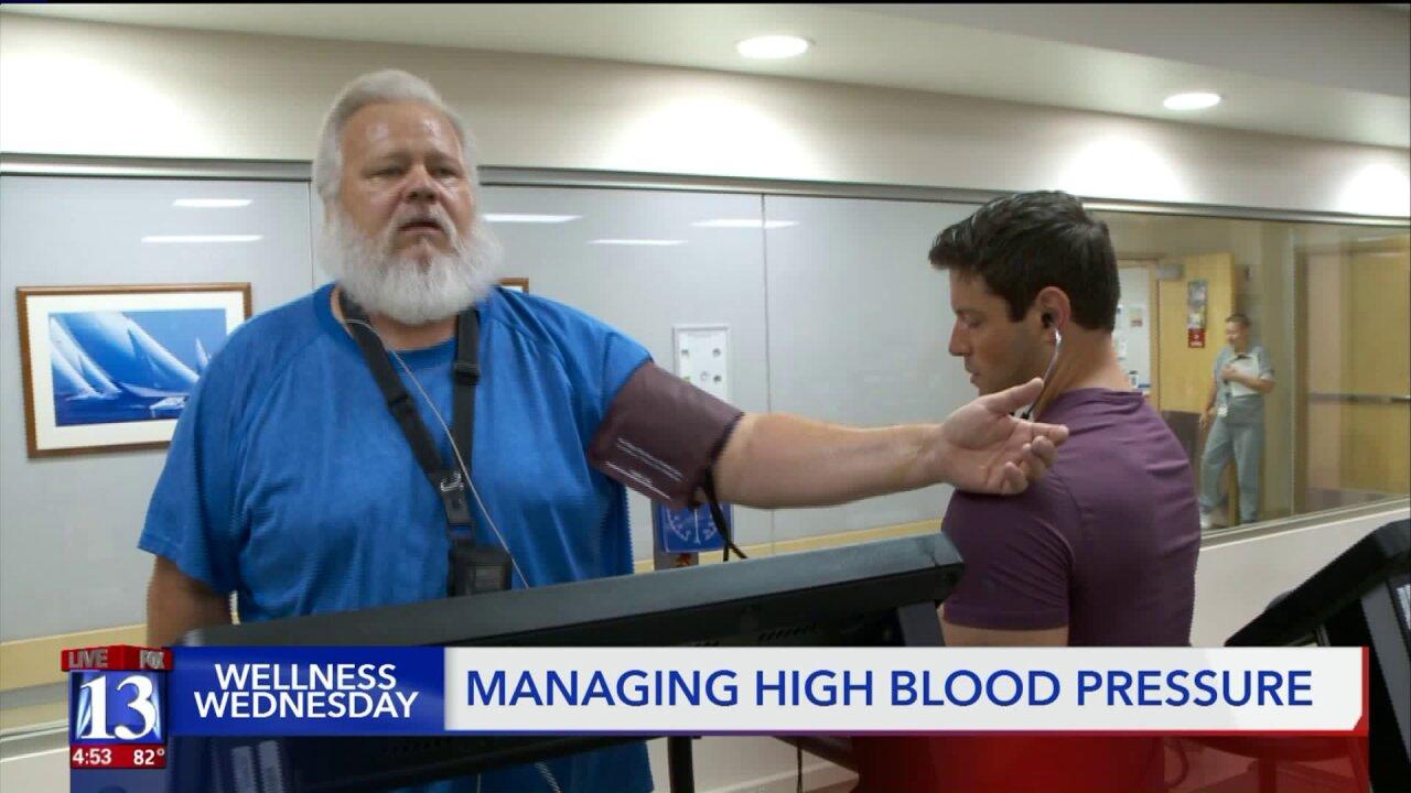 Wellness Wednesday: Managing high bloodpressure