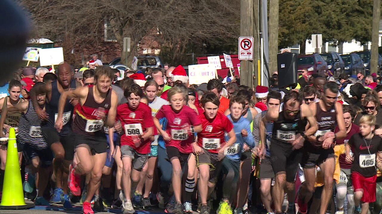 Toy Run 5K collects 800-plus toys for needy kids: 'It's not about who finishesfirst'