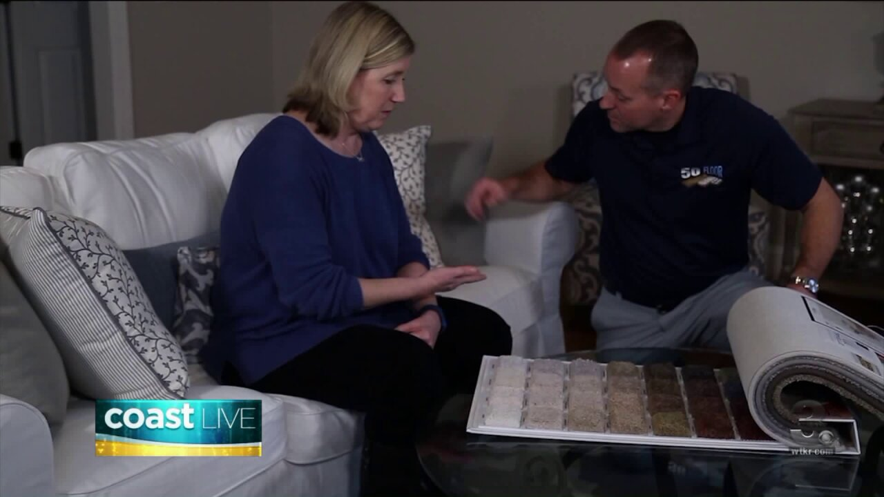 Making your home warm and cozy with new carpet on CoastLive