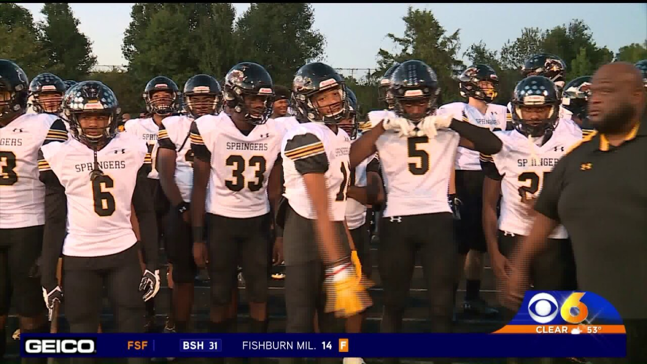 Highland Springs scores 26 2nd half points to beat Manchester and stay unbeaten