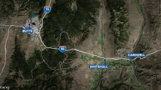 whitehall cardwell butte map