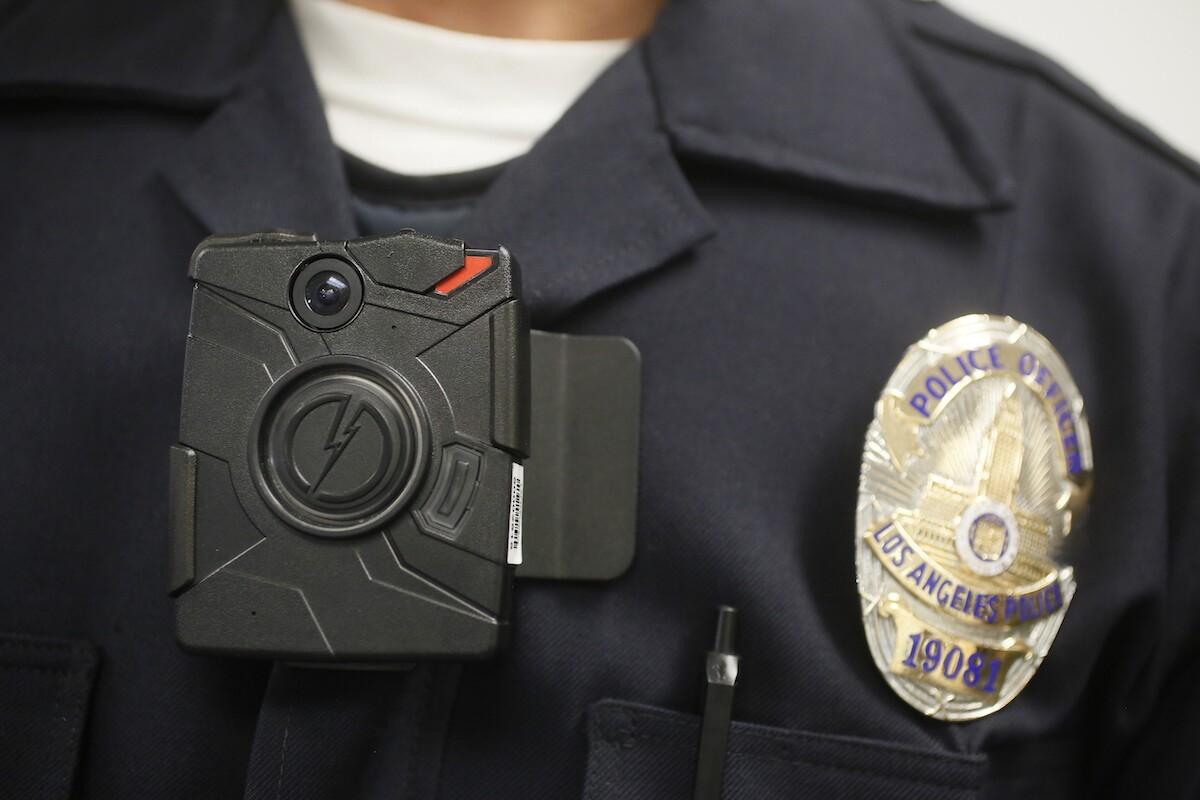 California agencies police video