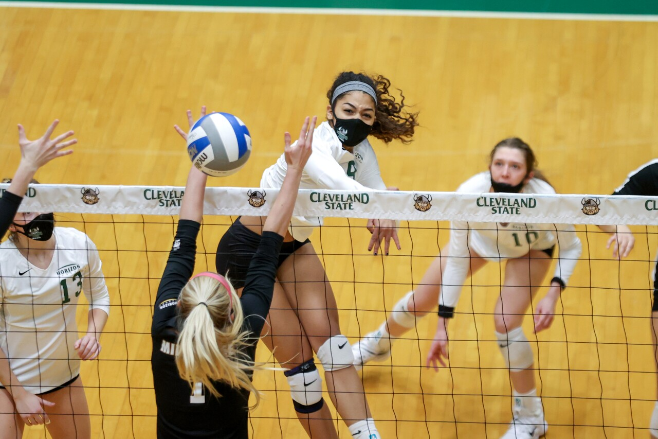 College Women's Volleyball: FEB 01 Milwaukee at Cleveland State
