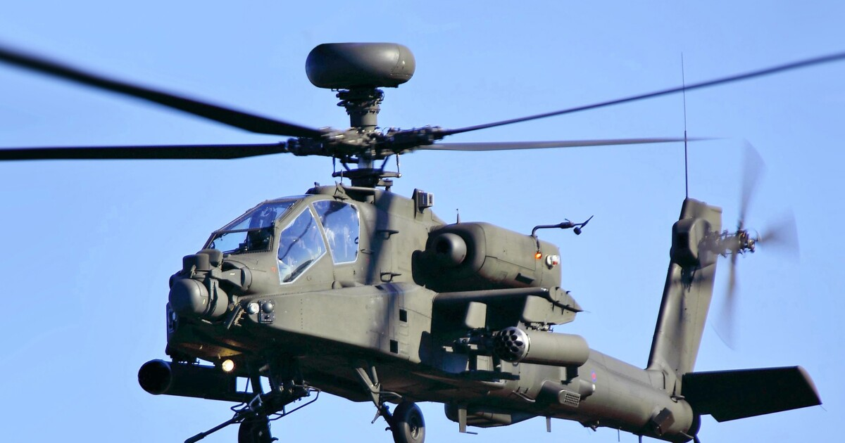 Two Fort Hood soldiers die in Apache helicopter crash