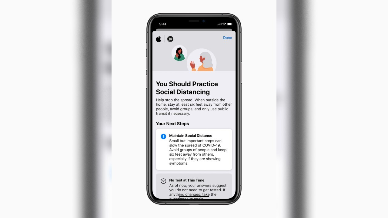 Apple releases new app, website to help Americans screen for COVID-19