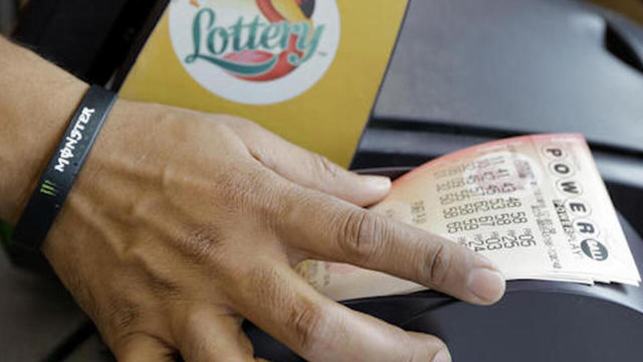 Powerball weekend jackpot climbs to $478 million