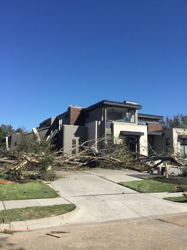Photos: EF-3 tornado rips through Dallas