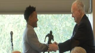 Robinson Receives Hornung Award, Wins Gatorade Player of the Year
