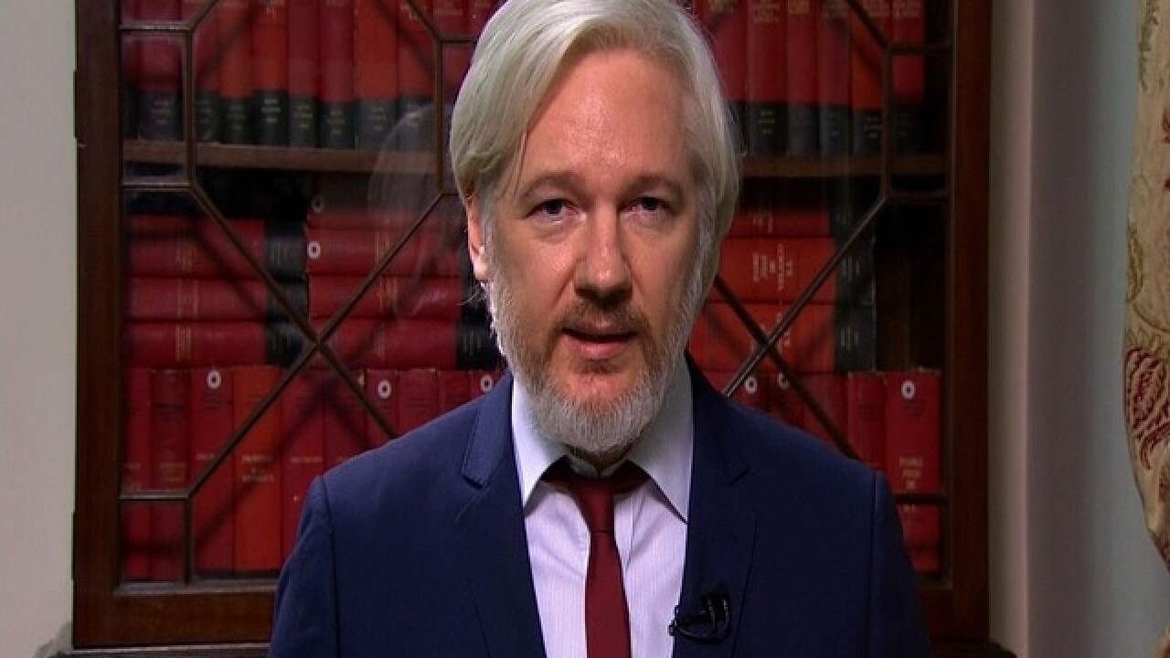 WikiLeaks' Assange: Russia didn't give us emails