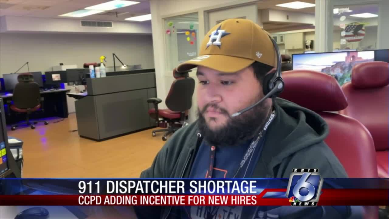 CCPD is experiencing a shortage of 911 dispatchers