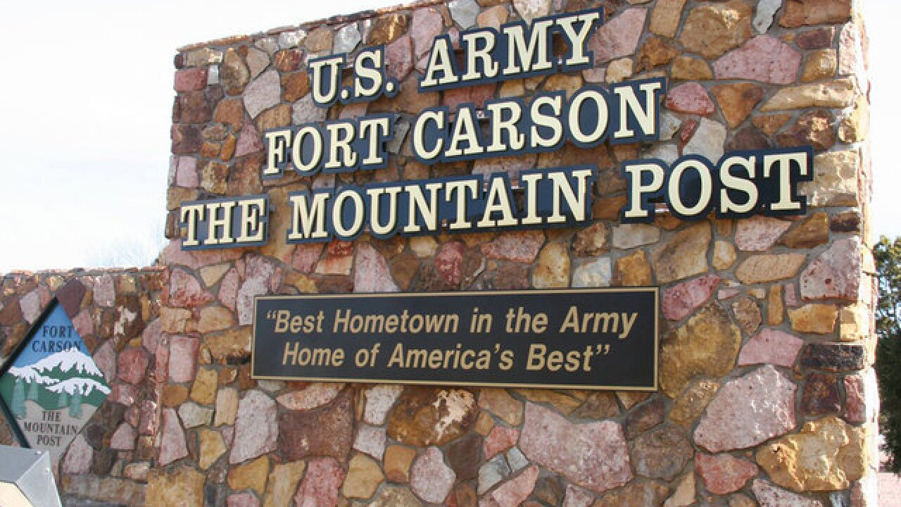 2 Fort Carson soldiers die in separate incidents