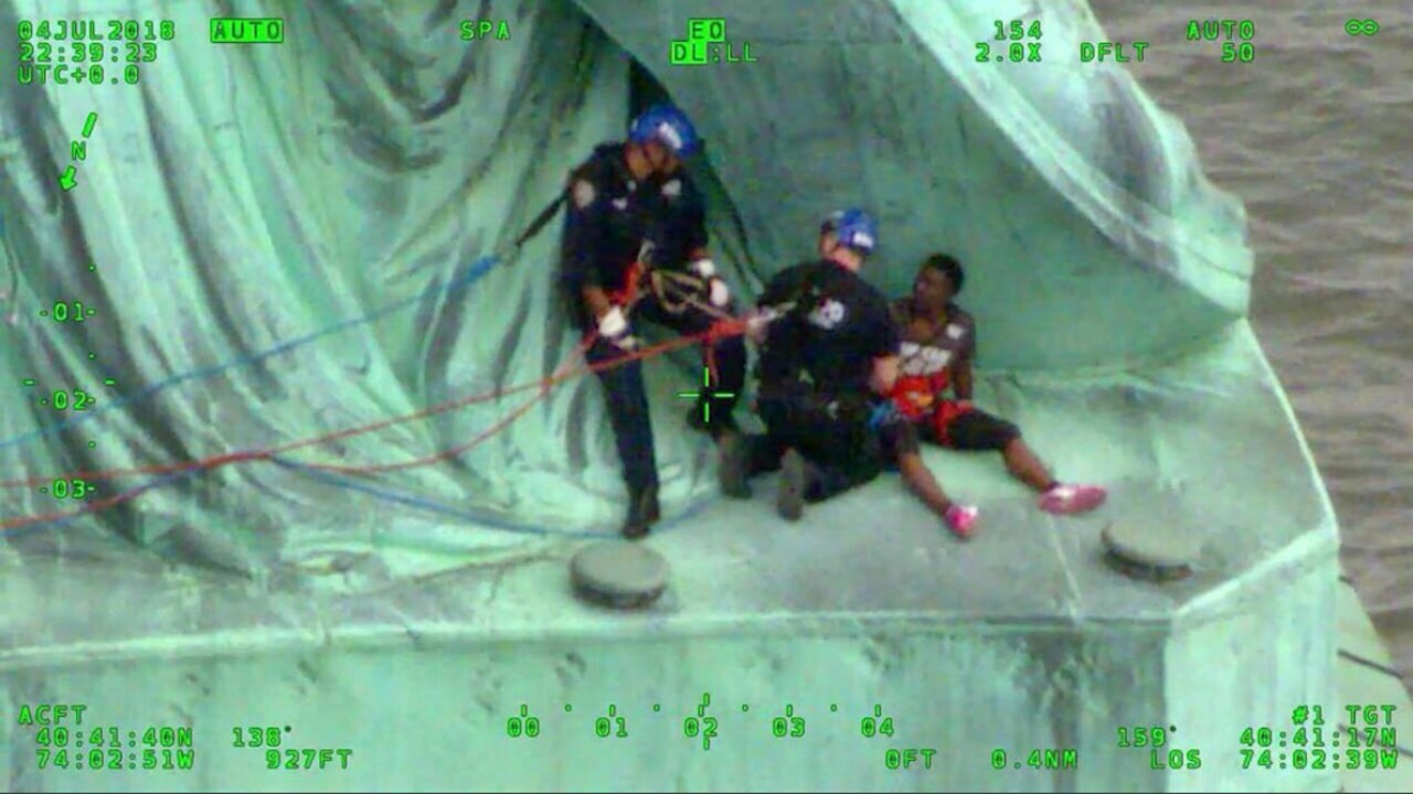 Statue of Liberty Arrests