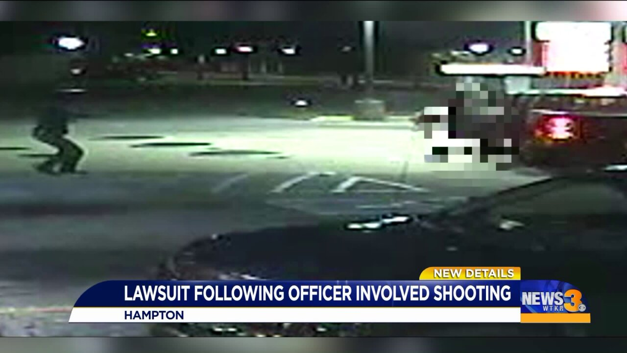 Lawsuit filed against police officers who shot three people at Hampton 7-Eleven