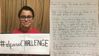 #ElPasoChallenge: Mom, son pose social media challenge on kindness in wake of mass shooting