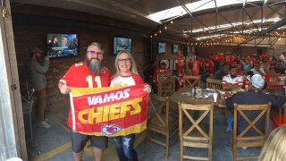 Chiefs fans in Mexico