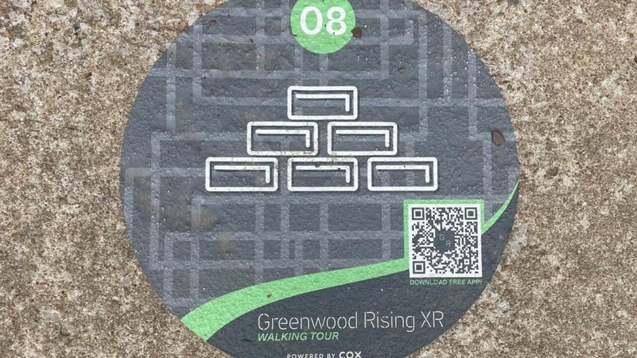 Greenwood Rising XR phone app