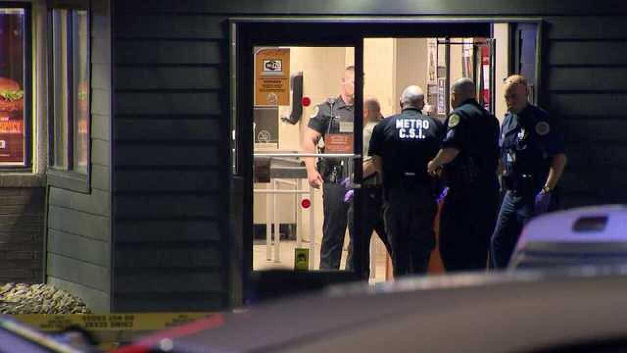 Masked Robber Shot, Killed At Burger King