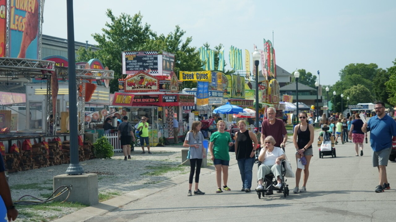 Here's the schedule for the 2019 Indiana State Fair
