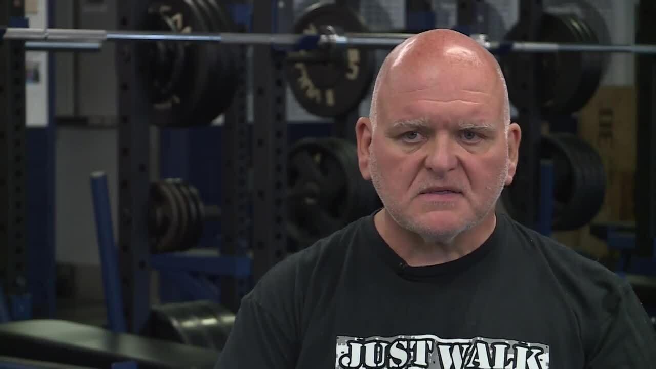 Dinwiddie Head Coach Billy Mills