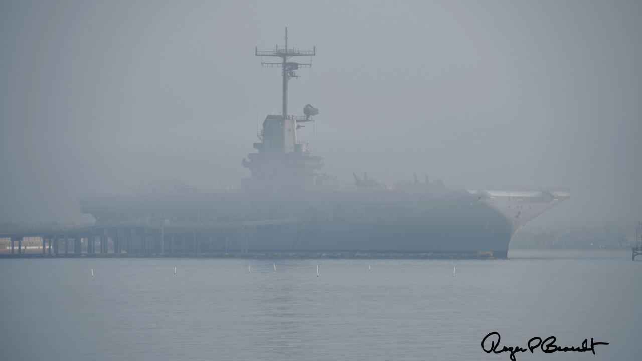 Foggy Coastal Bend weather