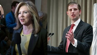 Eric Trump hits campaign trail in Tennessee for Blackburn
