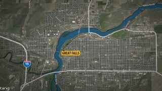GREAT FALLS MAP