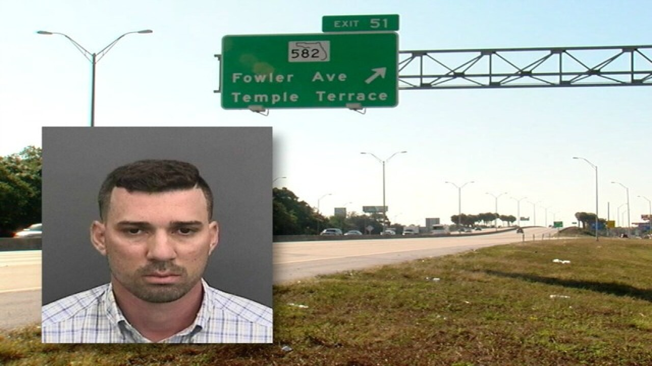 Deadly traffic accident on I-275 in Tampa