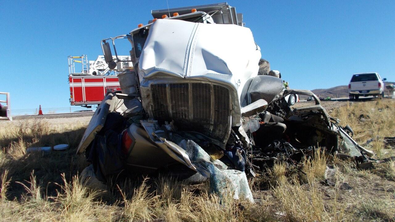 Driver arrested for automobile homicide, DUI after six killed in dump truckcrash
