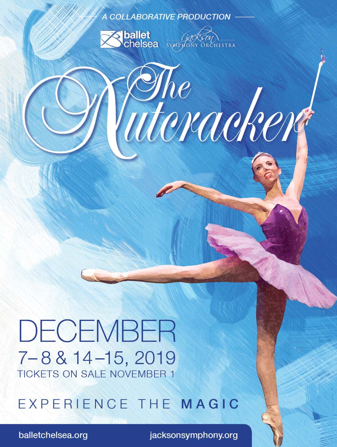 The Nutcracker Presented By The Jackson Symphony Orchestra and Ballet Chelsea