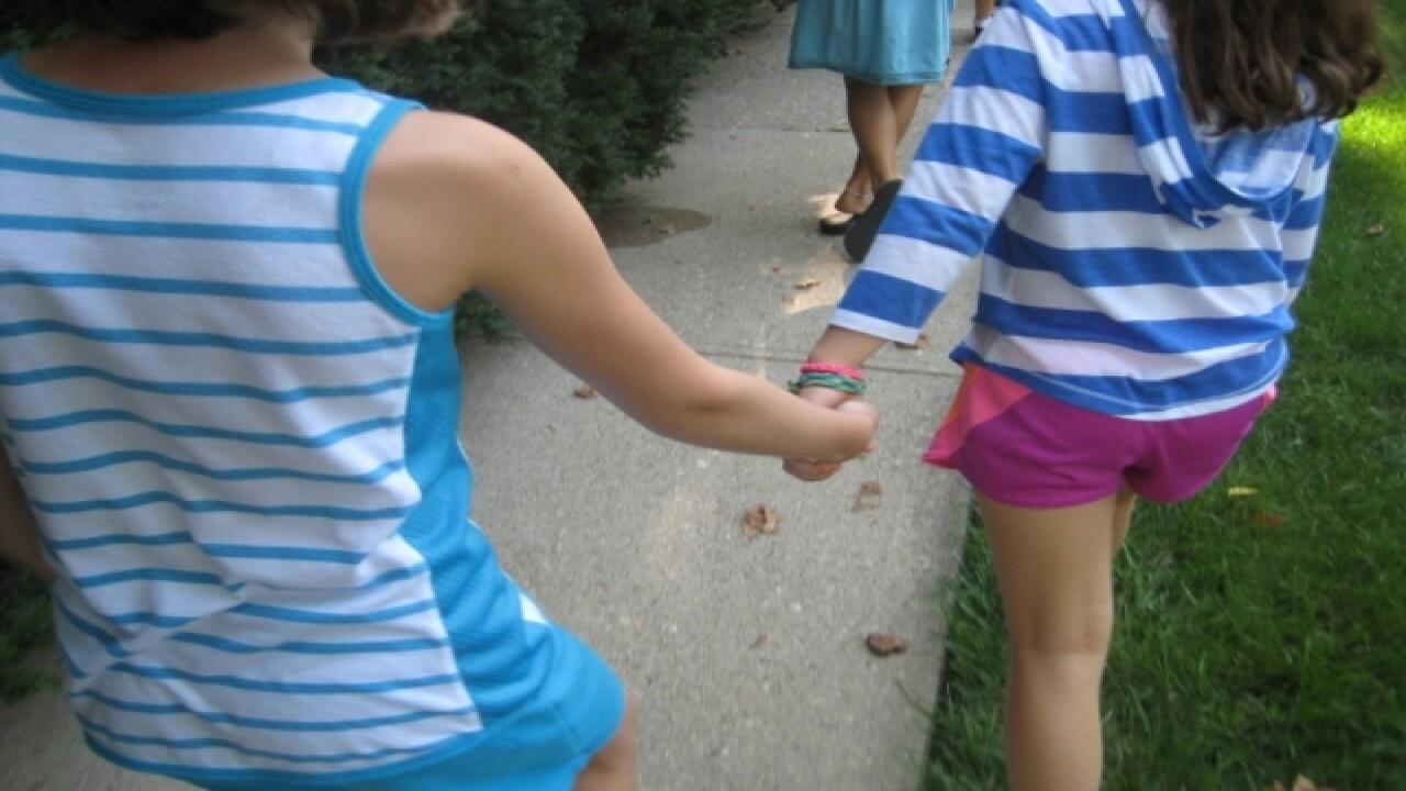 New School Montessori students looking inward