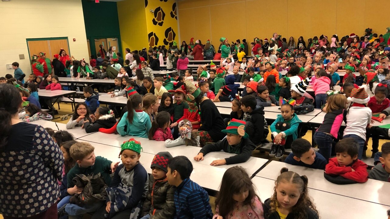Hicks Elementary Christmas party