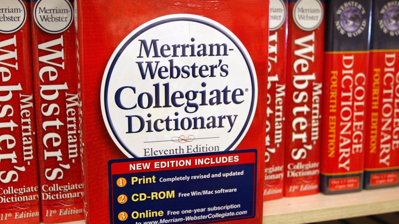 'They' named Merriam-Webster dictionary's word of the year
