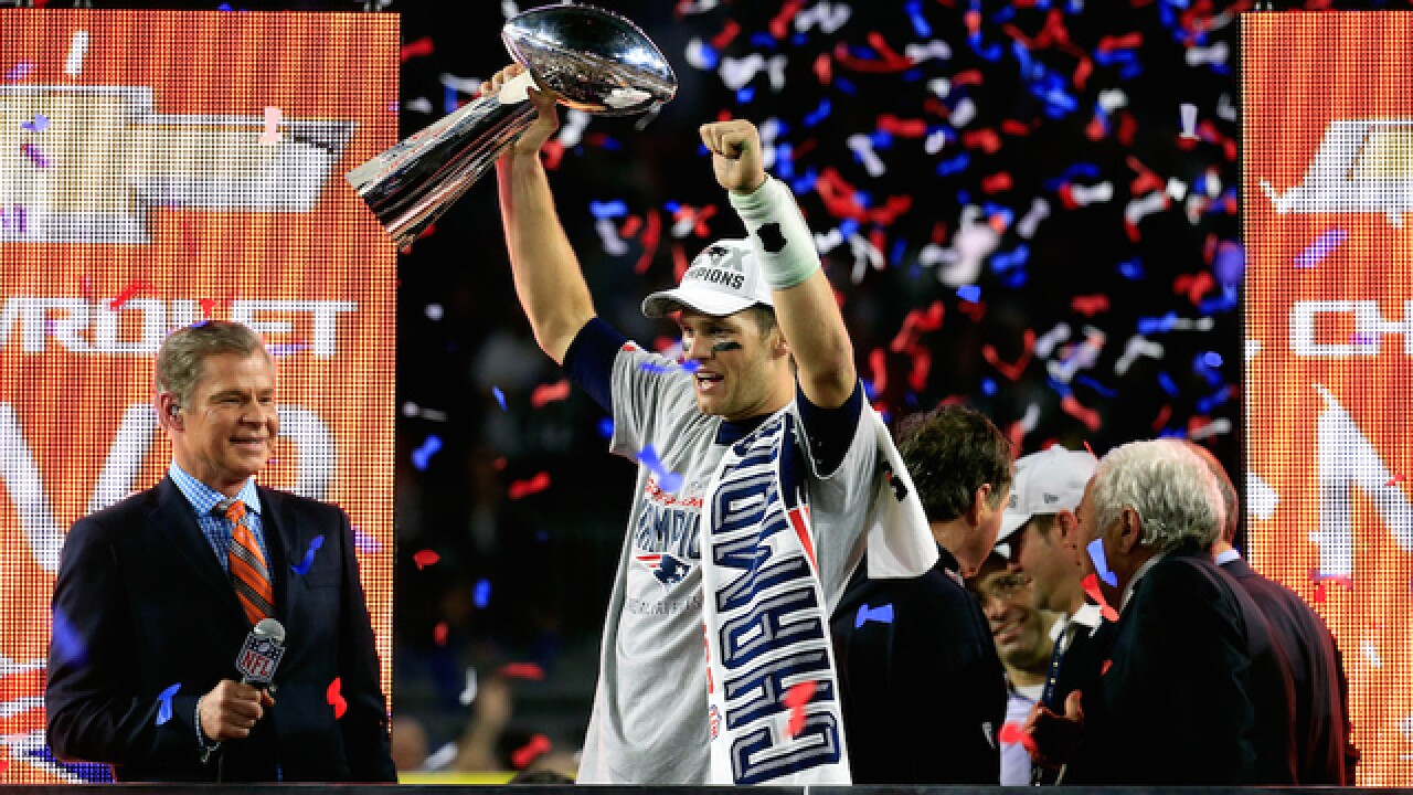 The best photos of Super Bowl XLIX