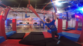Unconventional gyms break up monotony, take workouts to the extreme