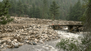 Poudre Canyon debris