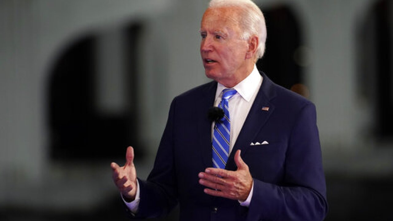Biden calls for mask mandate on federal property during town hall