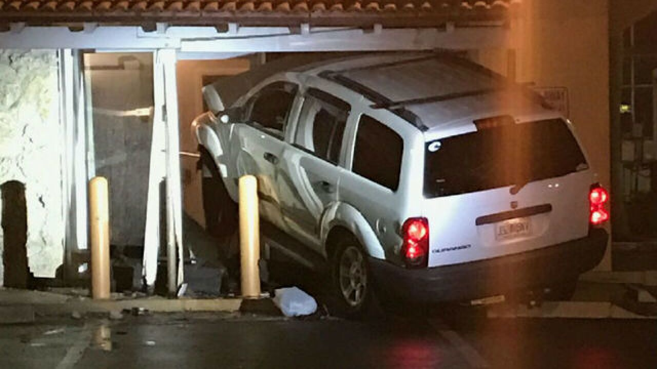 SUV crashes into Riviera Beach dentist office