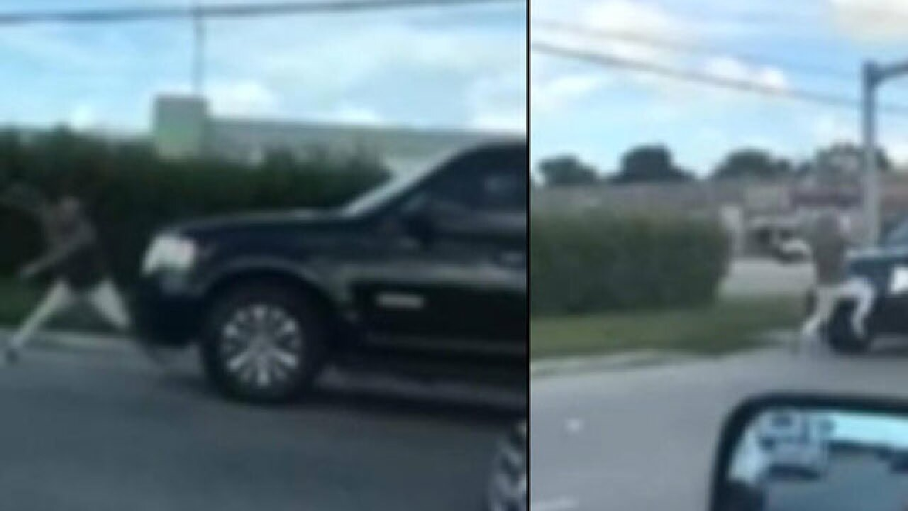 Wild road-rage incident caught on camera in Hialeah