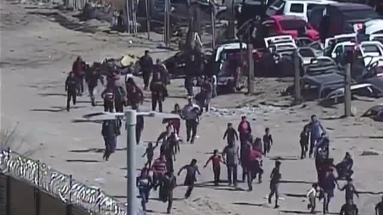 CBP border crossing video